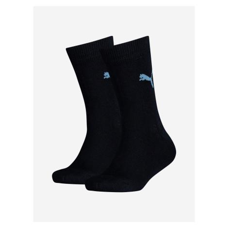 Ponožky Puma Easy Rider Jr 2 Pack Modrá
