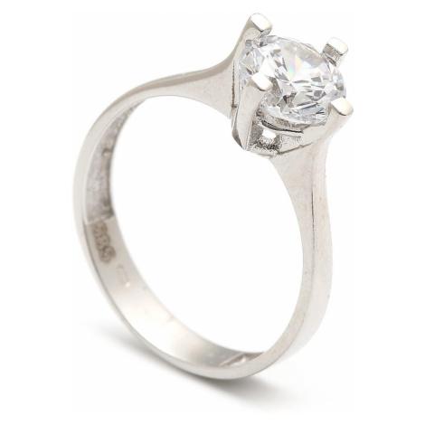 Zlatý zásnubný prsteň JUANITA