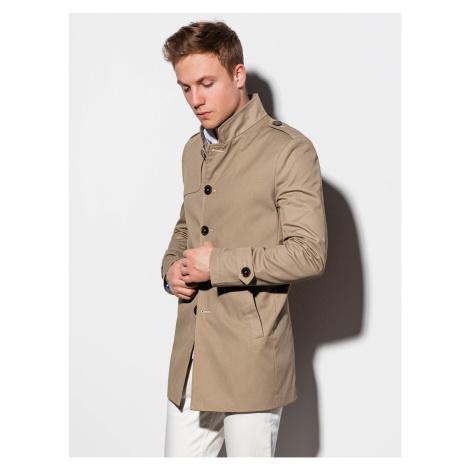 Jesenný kabát C269 - béžový