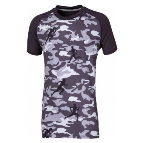 Progress COMBAT KID tmavo sivá - Detské športové tričko