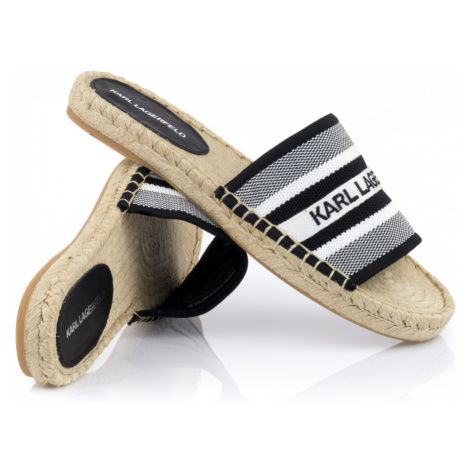 Šľapky Karl Lagerfeld Kamini Karl Woven Slide