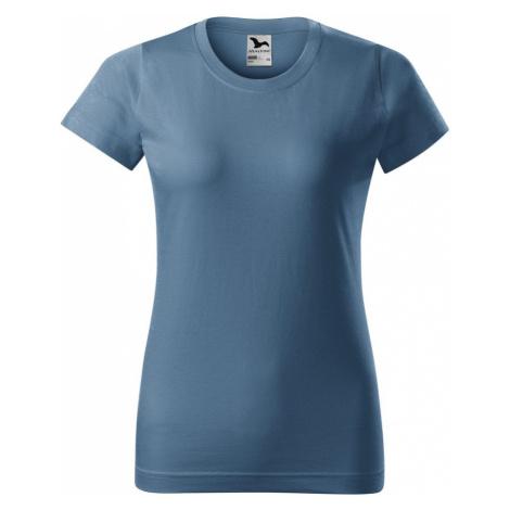 Modrá dámske tričká