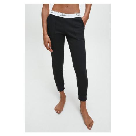 Calvin Klein Modern Cotton Tepláky dámske- čierne Veľkosť: XS