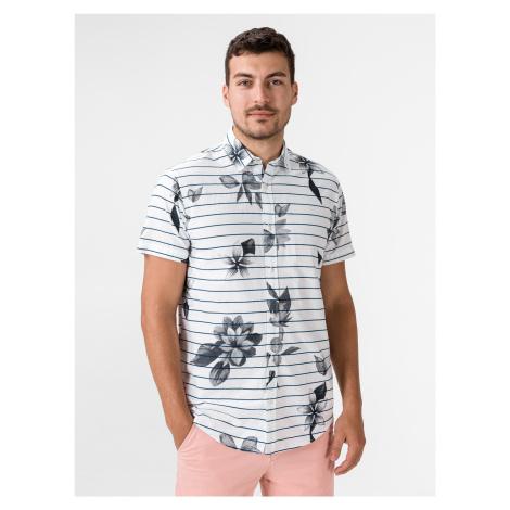 Flower Košile Jack & Jones Biela