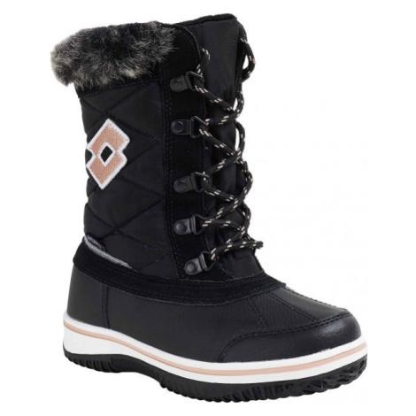 Lotto CHIANTI čierna - Dievčenská zimná obuv