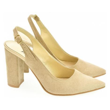 Dámske béžové sandále ELISSA John-C
