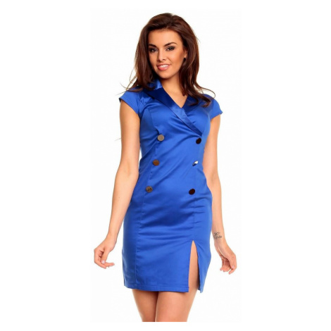 Dámske modré šaty Nadene
