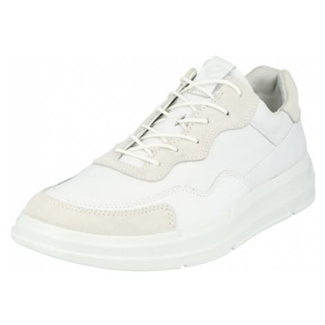 ECCO Nízke tenisky  biela / biela ako vlna
