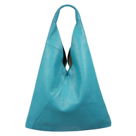 Kožená kabelka z Talianska Alma Turchese