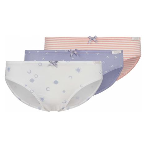 Skiny Nohavičky 'Rio'  slonová kosť / ružová / pastelovo modrá