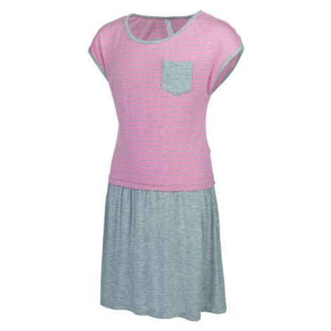 Lewro CHIMERA ružová - Dievčenské šaty