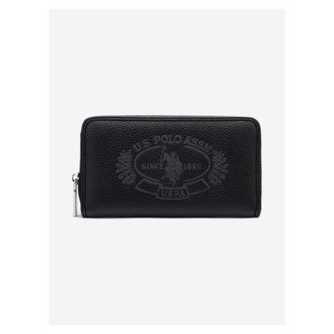 New Hailey L Peněženka U.S. Polo Assn Čierna