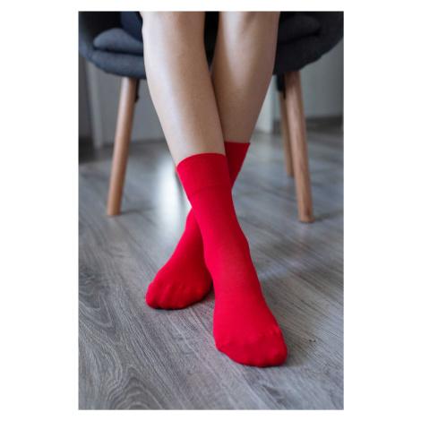 Barefoot ponožky - červené 43-46