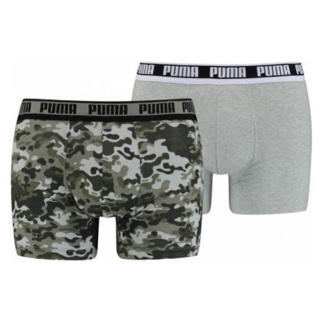 Puma MEN CAMO BOXER 2P - Pánske boxerky