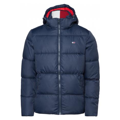 Tommy Jeans Zimná bunda  námornícka modrá Tommy Hilfiger