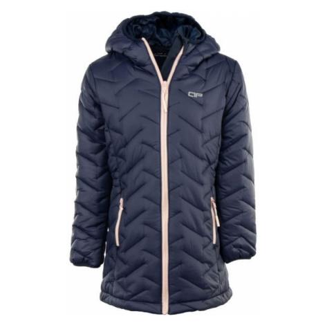 ALPINE PRO EASO 2 tmavo modrá - Detský kabát