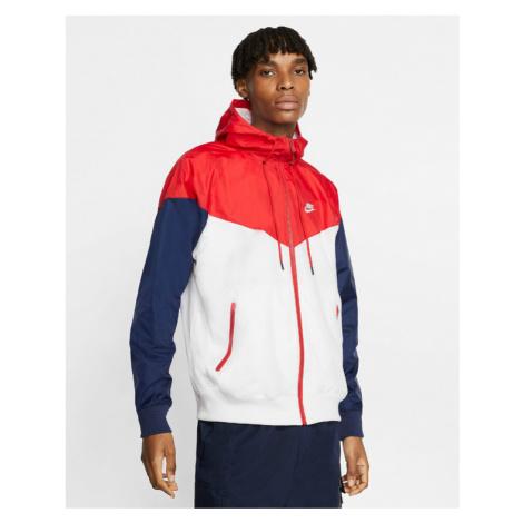 Nike Bunda Červená Biela