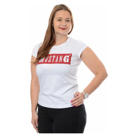 Tričko Mustang Alina dámske biele