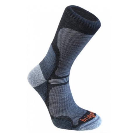 Ponožky Bridgedale Hike Ultra Light T2 Merino Performance Crew black/845