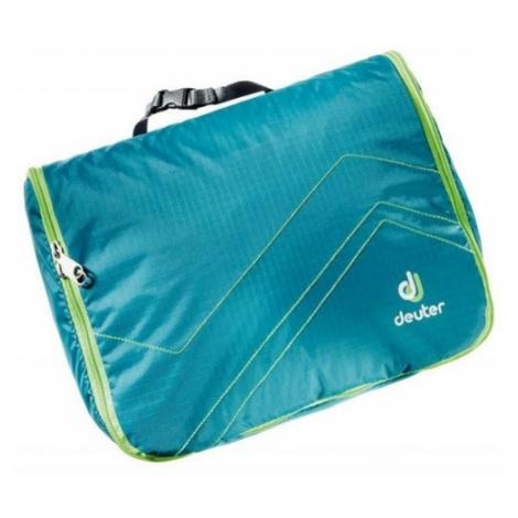 hygienická taška Deuter Wash centier lite ii petrol-kiwi
