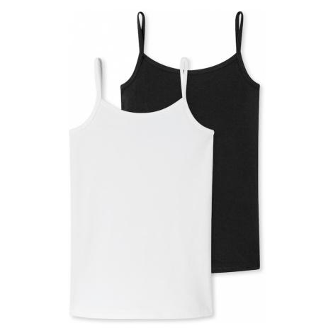 SCHIESSER Tielko  čierna / biela
