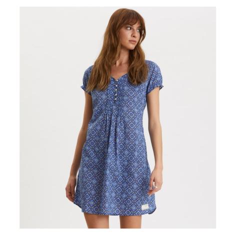 Šaty Odd Molly Perfect Print Short Dress - Modrá
