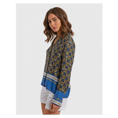 Košeľa La Martina Woman Chians Print Shirt