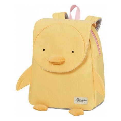 Samsonite Detský batoh Happy Sammies S+ Duck Dodie 11 l - žlutá