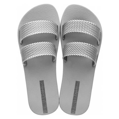 Ipanema sivé šľapky City Fem Grey/Silver