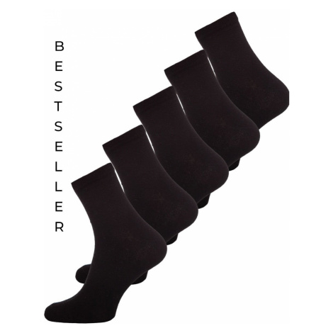 Čierne pánske ponožky Bolf X10163-5P 5KS JUSTPLAY