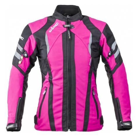 Dámska softshellová moto bunda W-TEC Alenalla NF-2410 Farba čierno-ružová