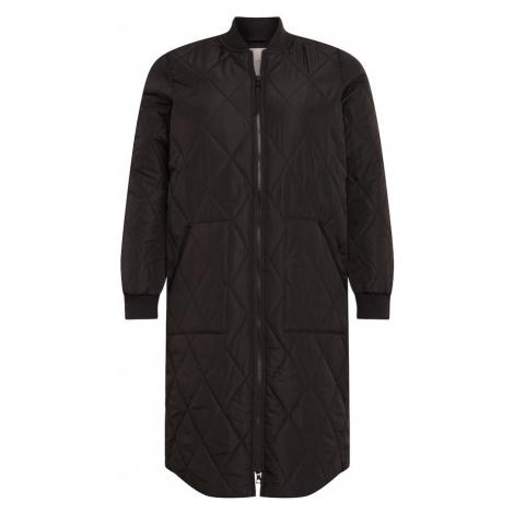 ONLY Carmakoma Prechodný kabát 'CARCARROT'  čierna
