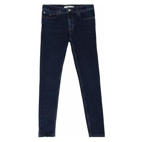 Calvin Klein Jeans Džínsy 'SKINNY MR ESSENTIAL'  modrá denim