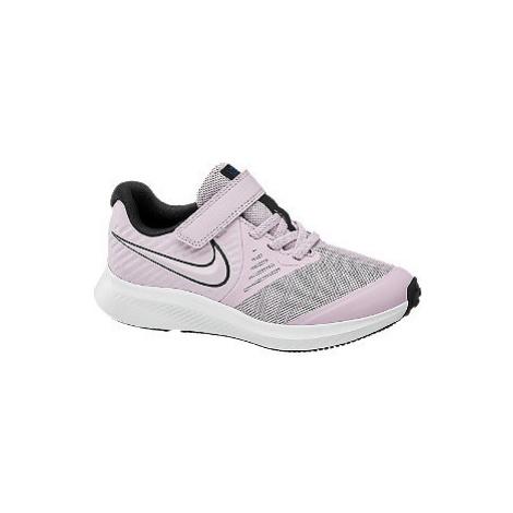 Ružové tenisky na suchý zips Nike Star Runner 2