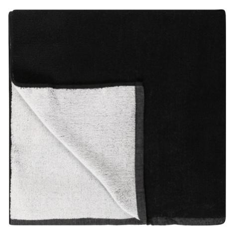 QUIKSILVER Plážová osuška 'SALTY TRIMS'  čierna / biela