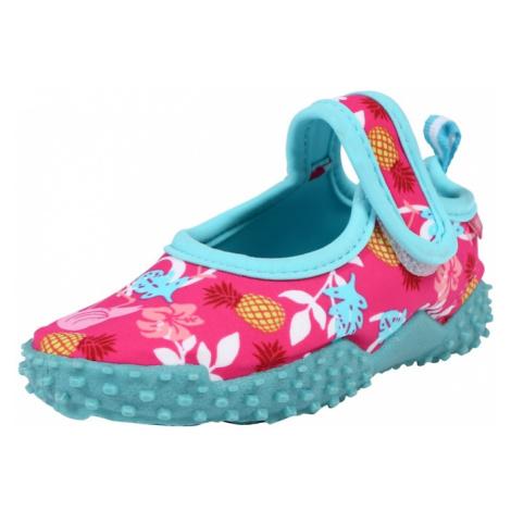 PLAYSHOES Plážové / kúpacie topánky  ružová / tyrkysová