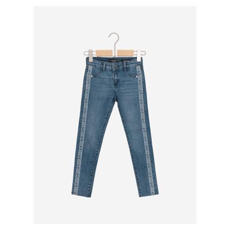 Jeans dětské Guess Modrá