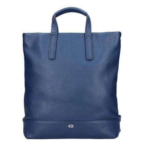Dámska kožená batôžky-kabelka Daag Marcela - modrá