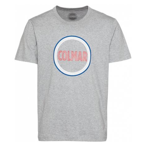 Colmar Tričko  sivá / biela / modrá / staroružová