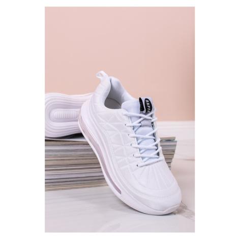 Biele nízke tenisky Ellen Vices