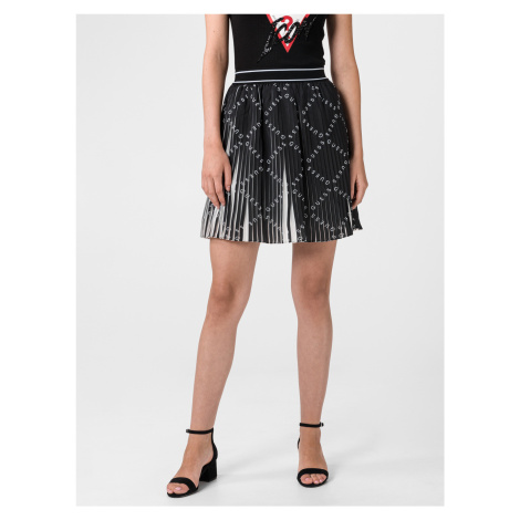 Plisované a volánové sukne Guess