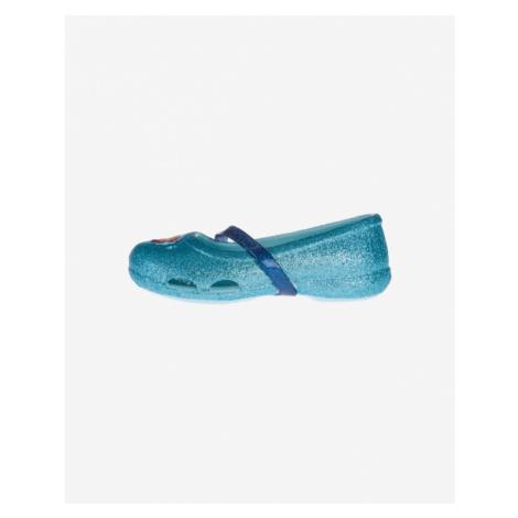 Crocs Crocs Lina Frozen™ Flat Balerínky detské Modrá