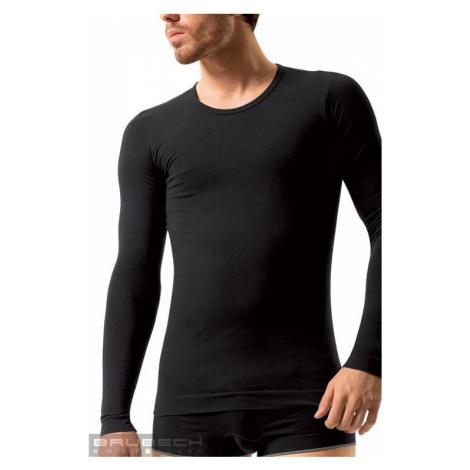 Pánske bezšvové prádlo LS 01120 Long sleeve white Brubeck