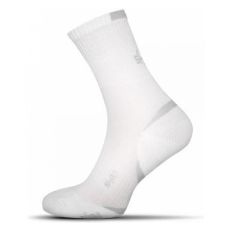 Bavlnené pánske ponožky v bielej farbe