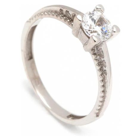 Zlatý zásnubný prsteň ALYSSUM white