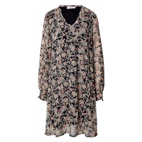 Cream Šaty 'Polina'  zmiešané farby / čierna