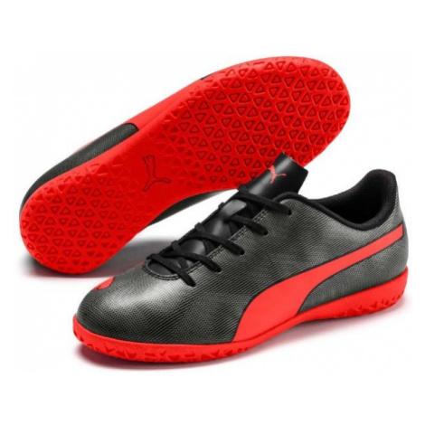 Puma RAPIDO IT JR zelená - Detská halová obuv