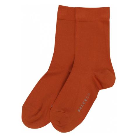 FALKE Ponožky  hrdzavohnedá