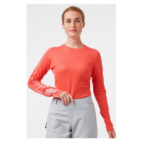 Dámske termo tričko Helly Hansen Lifa Merino koral
