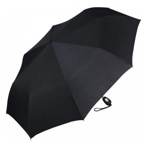 Esprit Pánsky skladací dáždnik Gents Mini Tecmatic Needle Stripe Black